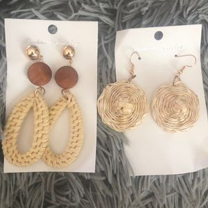 Rattan Earring: perfect for any summer outfit